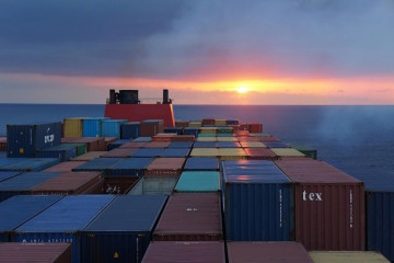 Multimodal shipping in containers