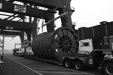 Transportation oversized and heavy cargoes